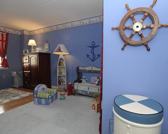 Пиратский дизайн интерьера детской 8