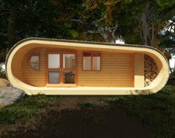 Инновационный эко дом из дерева обеспечивающий высокого уровня жизни