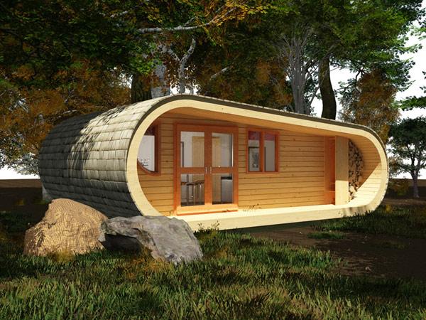Строим своими руками дом из дерева