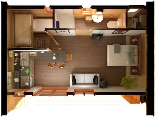Инновационный эко дом 6