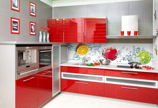 Кулинарные мотивы в интерьере кухни 10