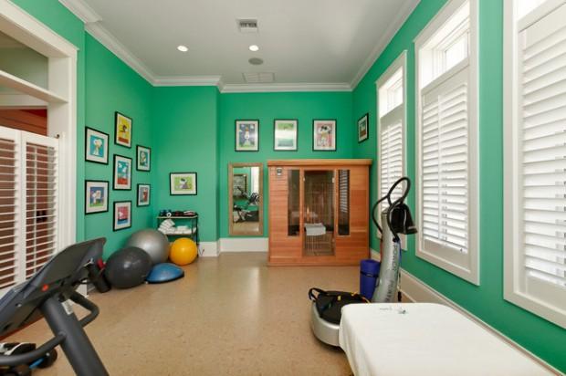 Интерьер спортивного комнаты в вашей квартире 5