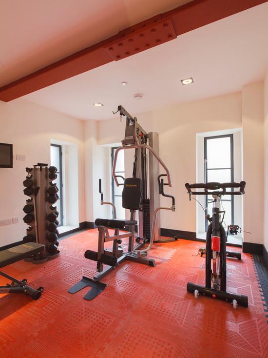 Дизайн интерьера спортзала в вашей квартире