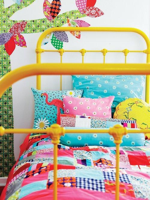 Лоскутная детская комната