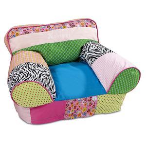 Кресло из лоскутов 2