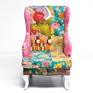 Кресло из лоскутов 3