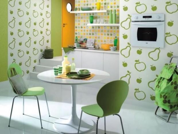 Кулинарные мотивы в интерьере кухни 12
