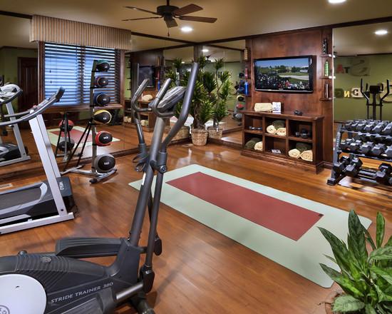 Интерьер спортивного комнаты в вашей квартире 17