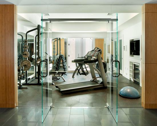 Интерьер спортивного комнаты в вашей квартире 18
