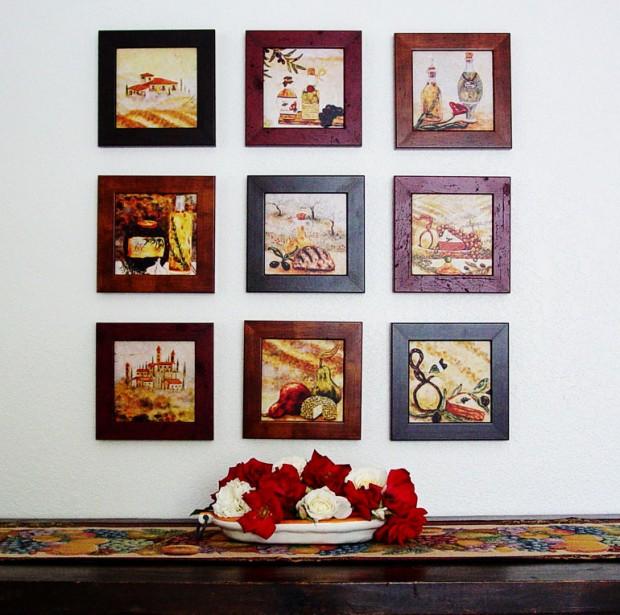 Картины в интерьере 3