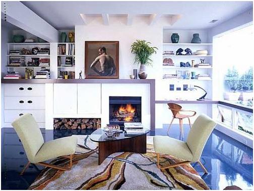 Стиль пост-модернистского дизайна в интерьере 2