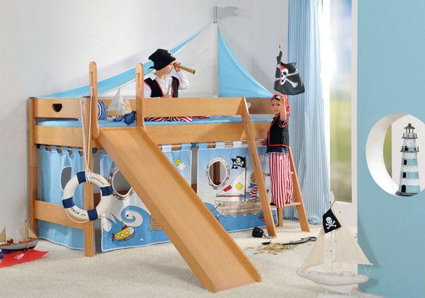 Пиратский дизайн интерьера детской 6