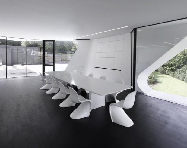 Футуризм в дизайне интерьеров 12