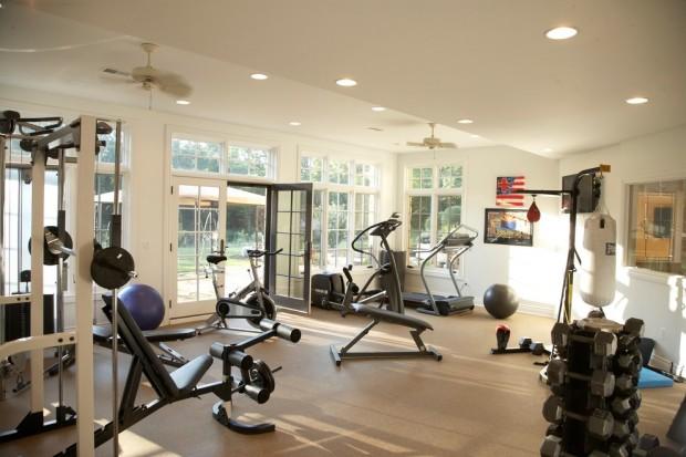 Интерьер спортивного комнаты в вашей квартире 19
