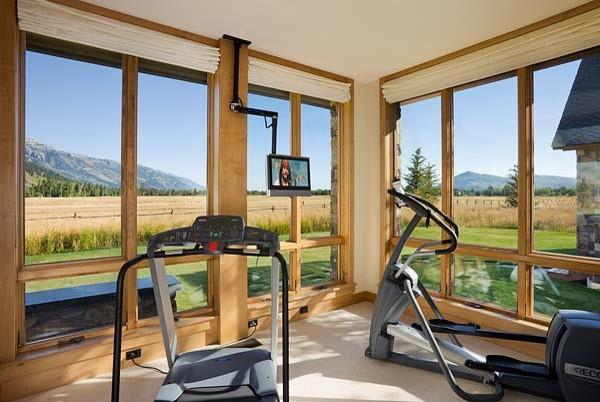Интерьер спортивного комнаты в вашей квартире 4