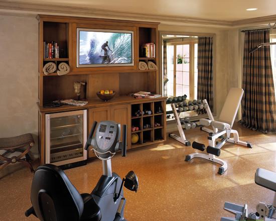 Интерьер спортивного комнаты в вашей квартире 20