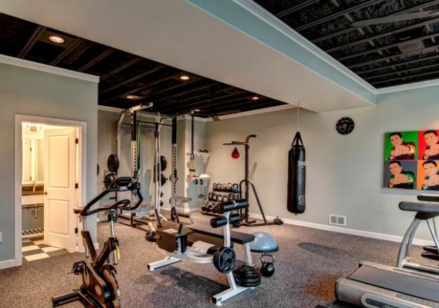 Интерьер спортивного комнаты в вашей квартире 3