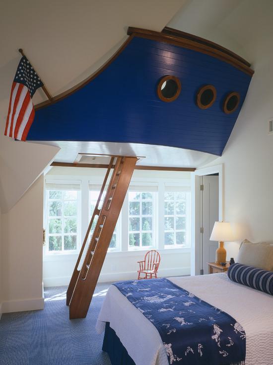 Пиратский дизайн интерьера детской 7