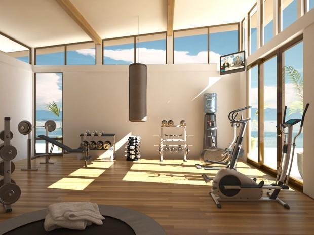 Интерьер спортивного комнаты в вашей квартире 8