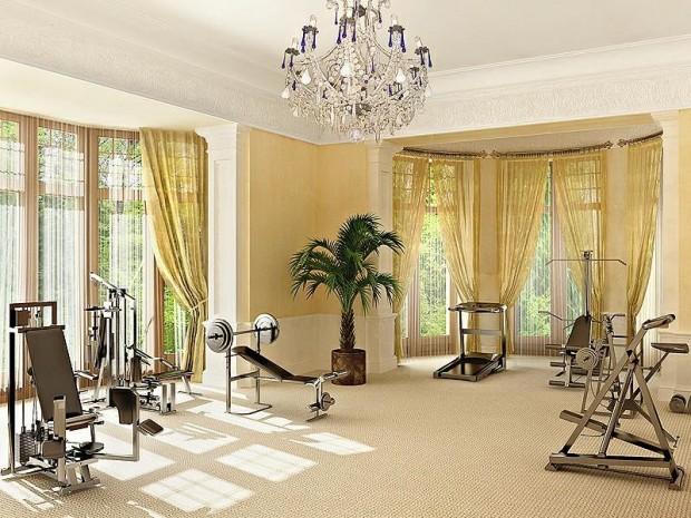 Интерьер спортивного комнаты в вашей квартире 9