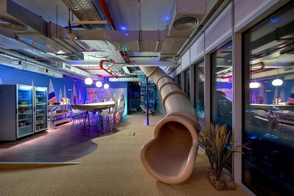 На фото: офис Google в Тель-Авиве