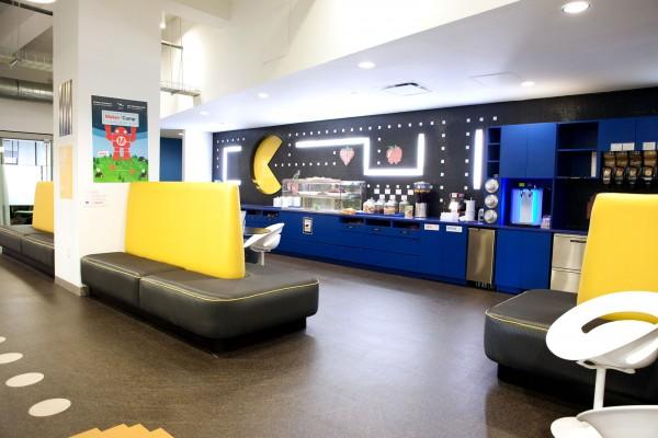 На фото: офис Google в Нью-Йорке
