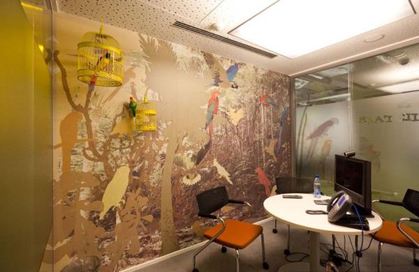 На фото: офис Google в Москве