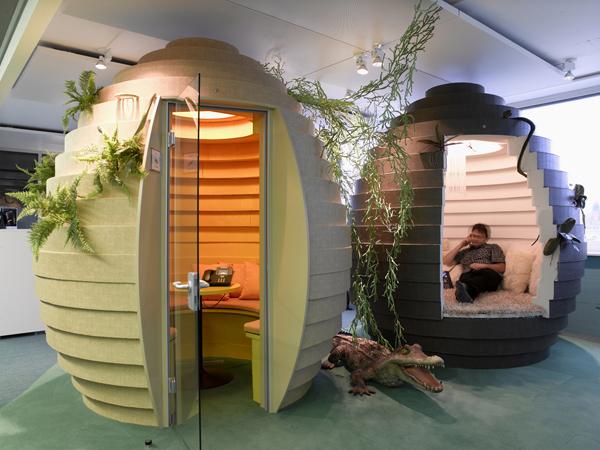 На фото: офис Google в Швейцарии