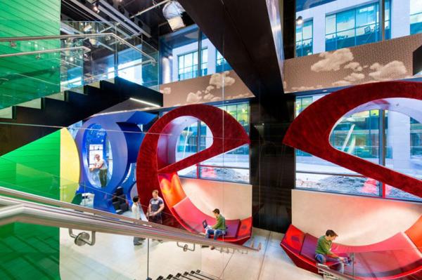 На фото: офис Google в Дублине