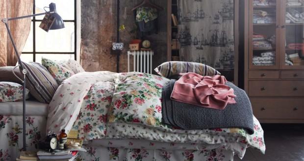 Спальное бельё в стиль Шебби Шик
