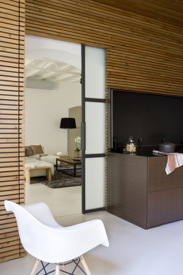Интересный дизайн квартиры в Барселоне 5