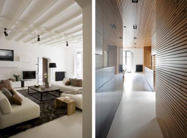 Интересный дизайн квартиры в Барселоне 4