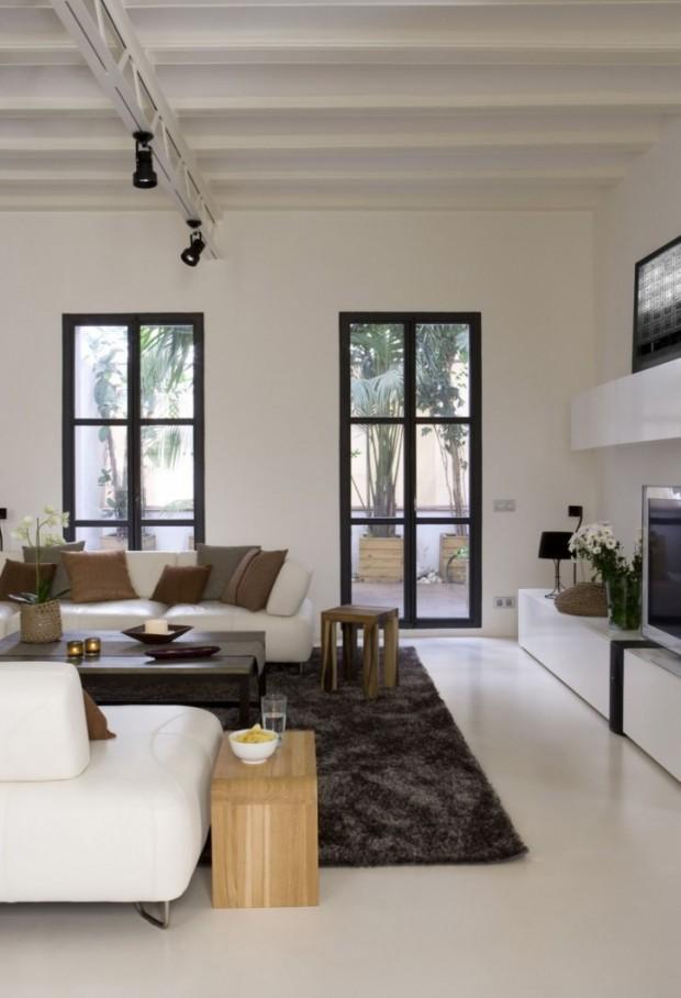Интересный дизайн квартиры в Барселоне 3