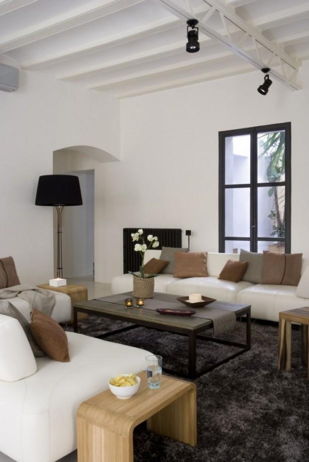 Интересный дизайн квартиры в Барселоне 2