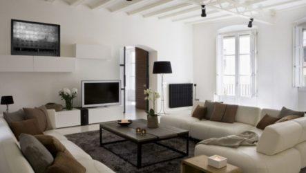 Интерьер недели: Интересный дизайн квартиры в Барселоне