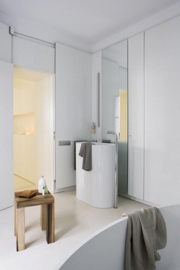 Интересный дизайн квартиры в Барселоне 16