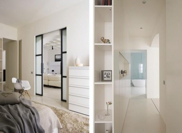 Интересный дизайн квартиры в Барселоне 14
