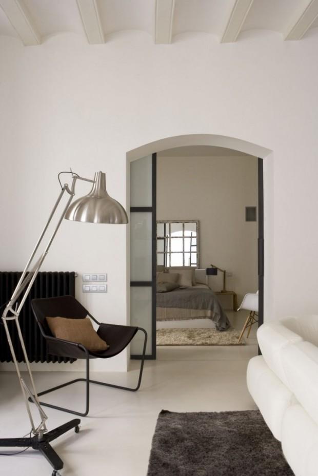 Интересный дизайн квартиры в Барселоне 12