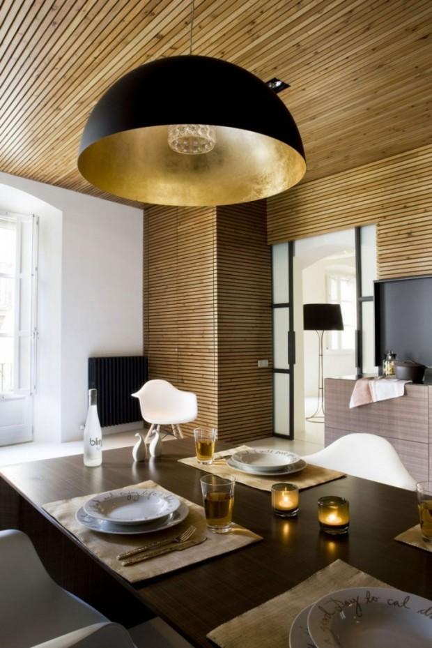 Интересный дизайн квартиры в Барселоне 10