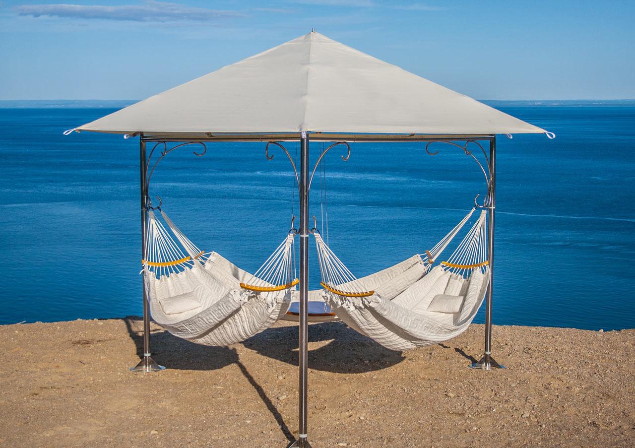 Пляжные зонты своими руками фото