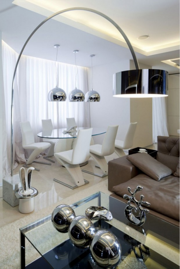 Дизайн интерьера квартиры в Москве 7