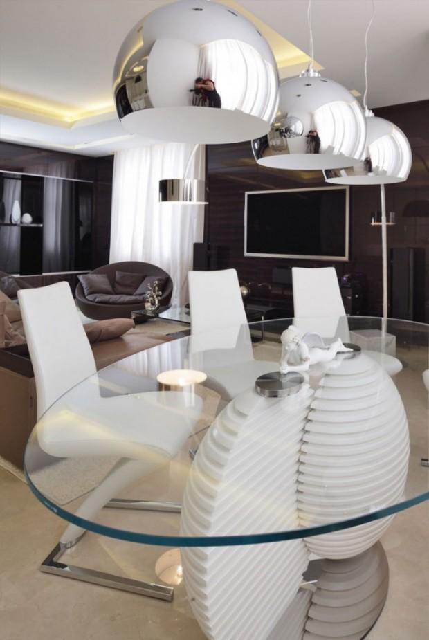 Дизайн интерьера квартиры в Москве 8
