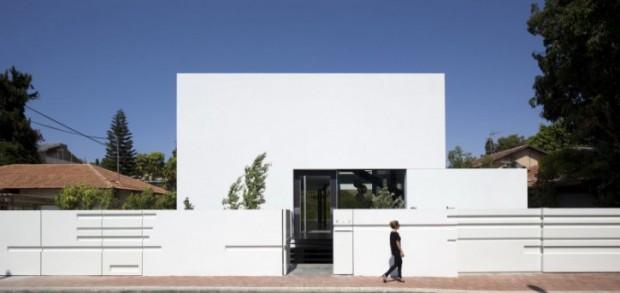 Архитектура дома в Тель-Авиве 1