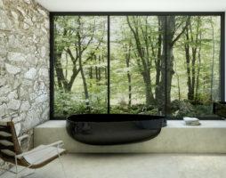 Минималистичная ванная комната