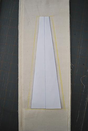 Выкройка клиньев