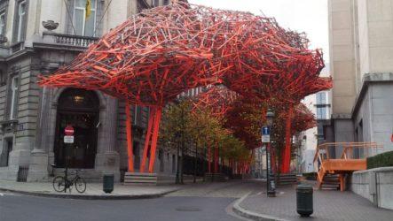 Деревянная скульптура Арне Куинзе