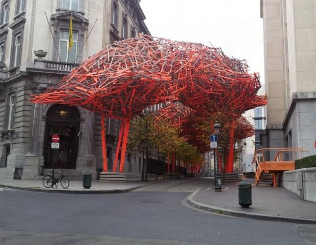 Деревянная скульптура Арне Куинзе 1