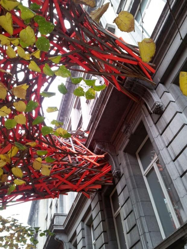 Деревянная скульптура Арне Куинзе 5
