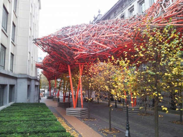 Деревянная скульптура Арне Куинзе 8