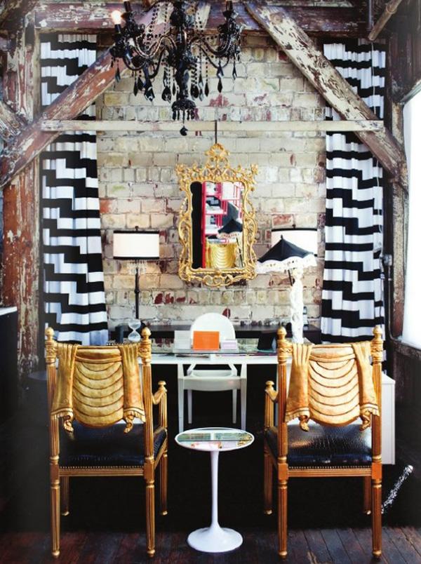 На фото: дизайн кабинета в квартире 2